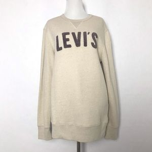 Levi's Sweater with embossed print